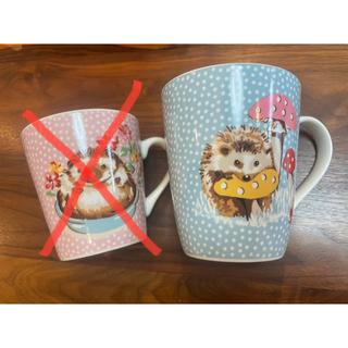 キャスキッドソン(Cath Kidston)のmai様専用 キャスキッドソン ハリネズミ マグカップ 大サイズ(グラス/カップ)