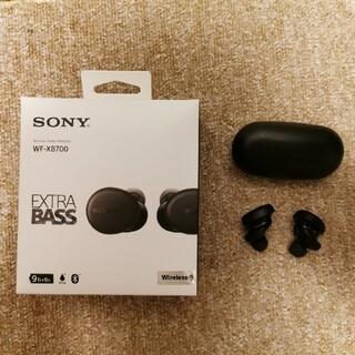 ソニー(SONY)のwf-xb700 ソニー フルワイヤレス 防水(ヘッドフォン/イヤフォン)