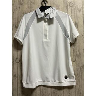 ランバン(LANVIN)の25,300円 ランバンスポール ゴルフウェア 半袖ポロシャツ 白 ホワイト38(ウエア)