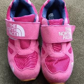 ザノースフェイス(THE NORTH FACE)のノースフェイス ピンク 靴 21.0(スニーカー)