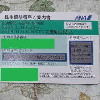 ANA(全日本空輸) - ANA株主優待券 1枚【かんたんラクマパック配送】