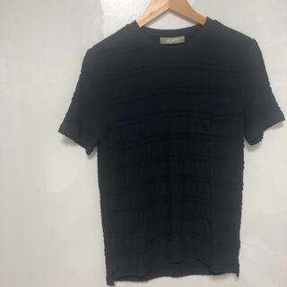 ナノユニバース(nano・universe)のnano universe Tシャツ ネイビー S-M 品番37(Tシャツ/カットソー(半袖/袖なし))