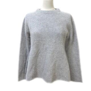 アンタイトル(UNTITLED)のアンタイトル UNTITLED カシミヤ混 長袖 ニット セーター フレア(ニット/セーター)