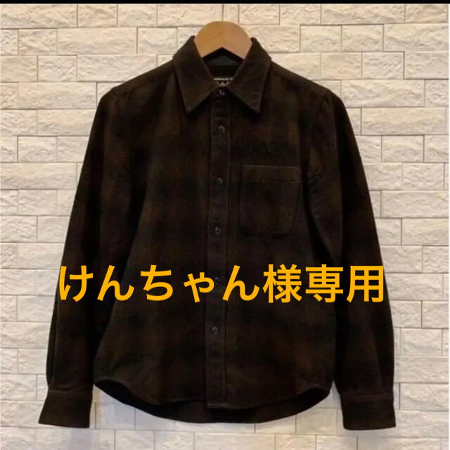 WACKO MARIA ワコマリア ネルシャツ ウール サイズS メンズのトップス(シャツ)の商品写真