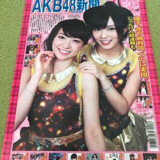 エーケービーフォーティーエイト(AKB48)のAKB48 大島優子&山本彩 クリアファイル 美品(アイドルグッズ)