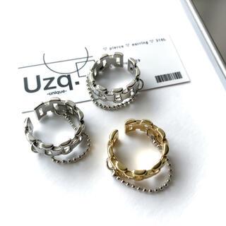 エモダ(EMODA)の【173】デザインチェーンリング(リング(指輪))