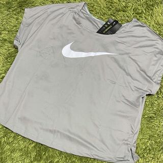 NIKE - 【新品】NIKE ナイキ Tシャツ XL フレンチスリーブ プルオーバー グレー