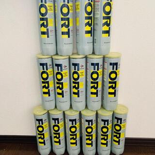 ダンロップ(DUNLOP)の未開封 ダンロップ テニスボール 15缶 60球 値下げ❗️(ボール)