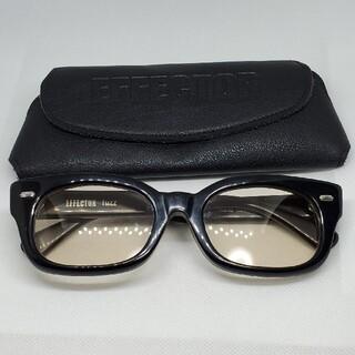 エフェクター(EFFECTOR)のEFFECTOR眼鏡 エフェクターメガネ FUZZ ファズ BK 度無サングラス(サングラス/メガネ)