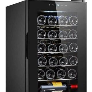 新品 ECL ワインセラー 24本収納 63L 5℃~18℃ コンプレッサー式