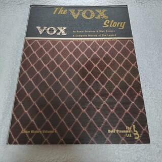 VOX - THE VOX STORY 英字 ヒストリーブック 値引き交渉OK