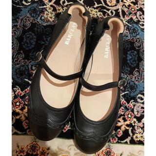 バークレー(BARCLAY)のBARCLAY leather flat shoes(バレエシューズ)
