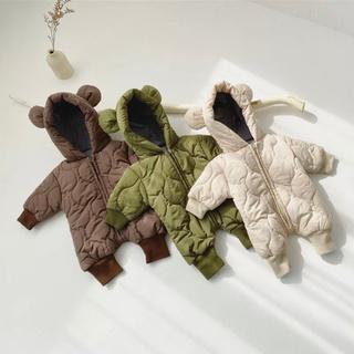 ザラキッズ(ZARA KIDS)の韓国子供服 クマさんカバーオール 3T(ジャケット/上着)