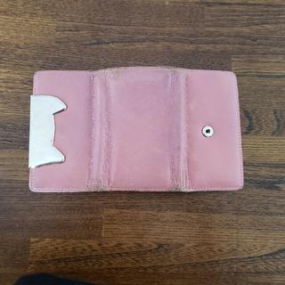 ツモリチサト(TSUMORI CHISATO)のツモリチサト キーケース ねこ ピンク(キーケース)