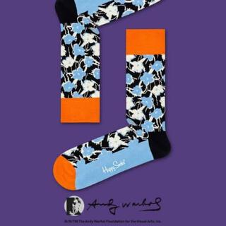 靴下屋 - ハッピーソックス ウォーホル