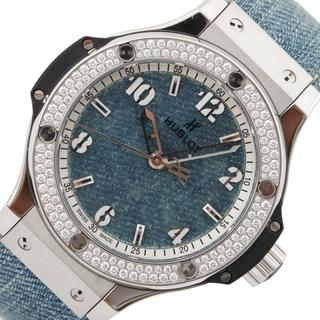 ウブロ(HUBLOT)のウブロ HUBLOT ビッグバンジーンズ日本限定 腕時計 ユニセックス【中古】(腕時計)
