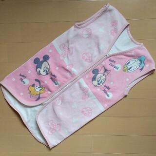 ディズニー(Disney)のディズニー かいまき スリーパー ベスト着る毛布(毛布)