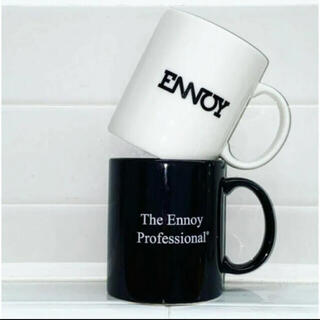 ワンエルディーケーセレクト(1LDK SELECT)の【2個セット】ennoy エンノイ ロゴ マグカップ スタイリスト私物 (グラス/カップ)