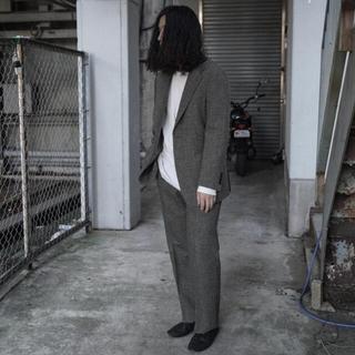 COMOLI - COMOLI LOVATピンヘッドスーツ