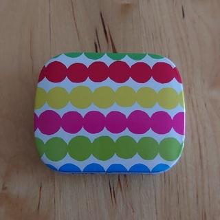 マリメッコ(marimekko)の【marimekko】ミニ缶 TinBox(小物入れ)