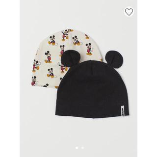 エイチアンドエム(H&M)のミッキー帽子 2点セット(帽子)