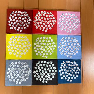 マリメッコ(marimekko)のペーパーナプキン  マリメッコ   プケッティ (小)    45枚(各種パーツ)