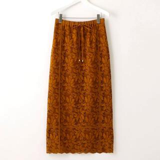 UNITED ARROWS - エメルリファインズ レースタイトスカート