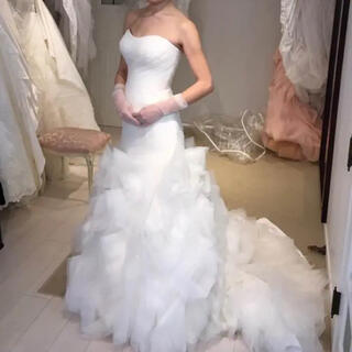 ヴェラウォン(Vera Wang)のウェディングドレス マーメイド(ウェディングドレス)