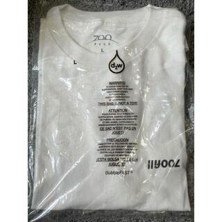 1LDK SELECT - 700fill 白ロゴTシャツ Lサイズ