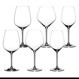リーデル(RIEDEL)のリーデル ワイングラス 6脚セット(アルコールグッズ)