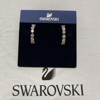 スワロフスキー(SWAROVSKI)のスワロフスキー tennis deluxe mix ピアス(ピアス)