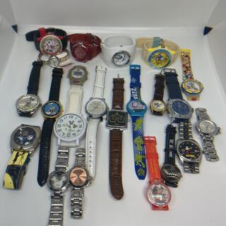 ディズニー(Disney)のDISNEY ディズニー ジャンク品 22本セット メンズ レディース 腕時計(腕時計(アナログ))