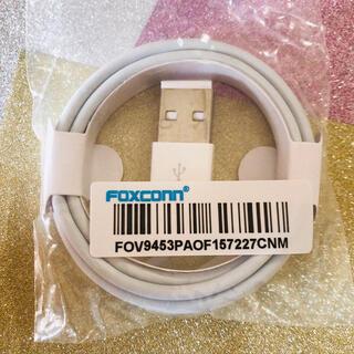 iPhone 充電 ライトニングケーブル Apple社委託先 foxconn社製(その他)
