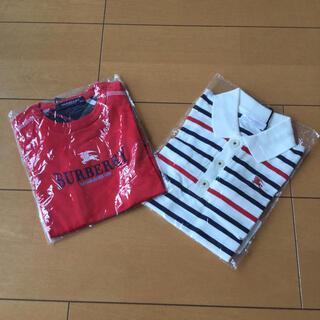 バーバリー(BURBERRY)の夏物セール!【新品】 BURBERRY 半袖 Tシャツ 80 バーバリー 2点(Tシャツ)