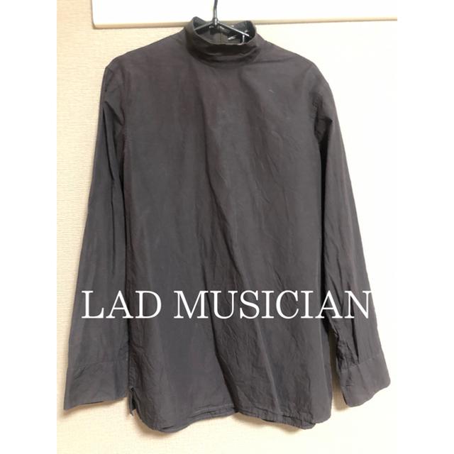 LAD MUSICIAN(ラッドミュージシャン)のLAD MUSICIAN ハイネックシャツ メンズのトップス(シャツ)の商品写真