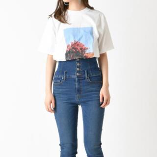 ミスティック(mystic)のmystic 転写フォトプリントTシャツ(Tシャツ(半袖/袖なし))