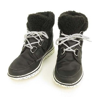 ソレル(SOREL)のソレル SOREL スノーブーツ ショートブーツ 23cm ブラック(ブーツ)