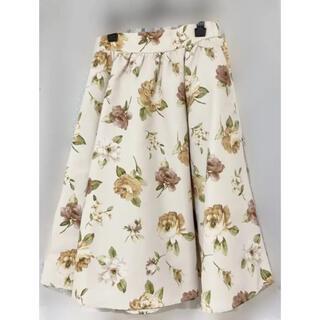 ジルバイジルスチュアート(JILL by JILLSTUART)のジル 花柄スカート(ひざ丈スカート)