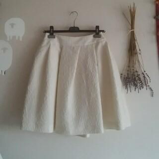 ルネ(René)のRene♡36スカートアイボリー(ひざ丈スカート)