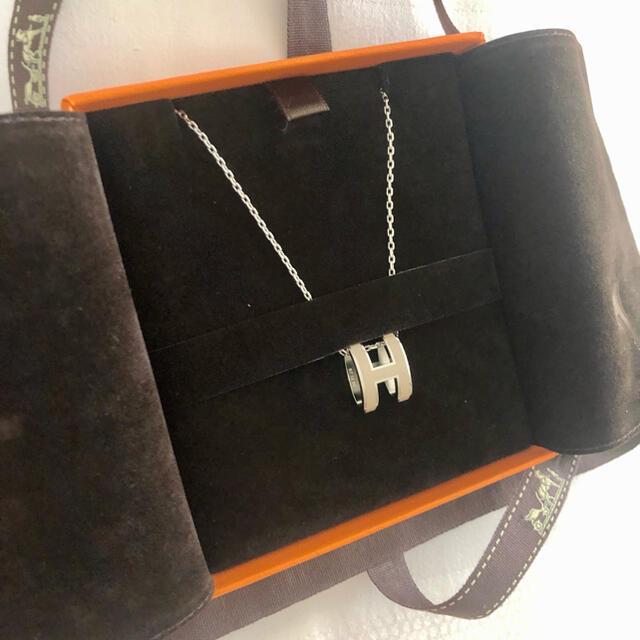 Hermes(エルメス)の新品未使用 エルメス POP H ポップH ペンダント マロングラッセ パラディ レディースのアクセサリー(ネックレス)の商品写真