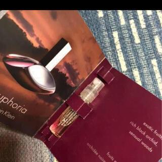 カルバンクライン(Calvin Klein)の香水 サンプル(香水(女性用))
