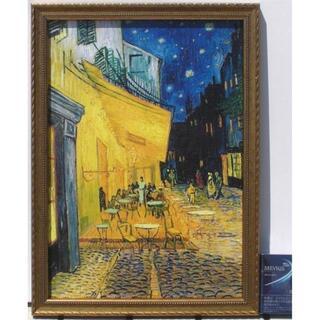 【ゴッホ】「夜のカフェ・テラス」1888年★樹脂製額縁★【激安】(絵画/タペストリー)