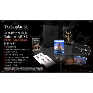 BANDAI NAMCO Entertainment - 特典付【PS5】Tales of ARISE Premium edition