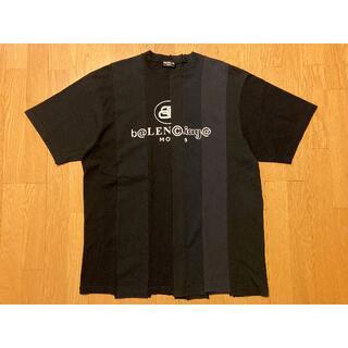 バレンシアガ(Balenciaga)のバレンシアガ BALENCIAGA 青山 店舗 限定 再構築ロゴ Tシャツ S(Tシャツ/カットソー(半袖/袖なし))