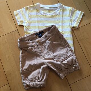 GAP Kids - ギャップ パンツ 80 90 無印Tシャツ セット