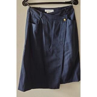 クリスチャンディオール(Christian Dior)のDIORラップスカート(ひざ丈スカート)