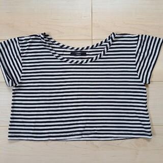 デュラス(DURAS)のデュラス ボーダー重ね着用Tシャツ(Tシャツ(半袖/袖なし))