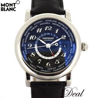 MONTBLANC - モンブラン スターワールドタイムGMT 106464 メンズ