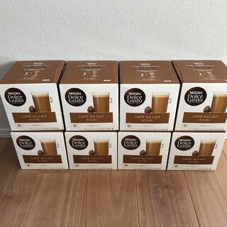 Nestle - ドルチェグスト カプセル カフェオレ 8箱分 (128杯分)
