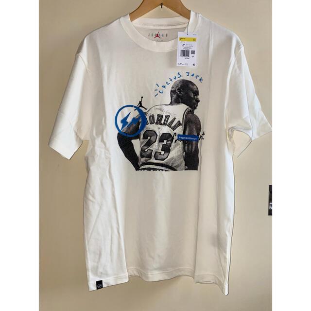 NIKE(ナイキ)のAir Jordan Travis Scott Fragment Tee メンズのトップス(Tシャツ/カットソー(半袖/袖なし))の商品写真